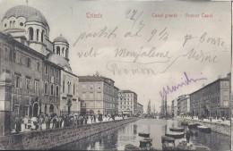 TRIESTE 1906 - Canal Grande - Trieste
