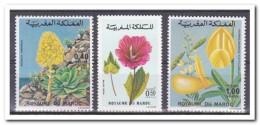 Marokko 1977, Postfris MNH, Flowers - Marokko (1956-...)