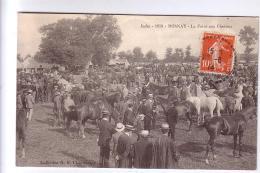 36 ROSNAY La Foire Aux Chevaux CPA TB Animée 1914 - Francia