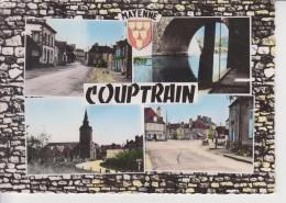 135 - 53 - COUPTRAIN - Rue Principale - Ecole - Lavoir - Eglise - Place - Couptrain