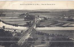 SAACY SUR MARNE   PONT DE CHEMIN DE FER - Frankreich