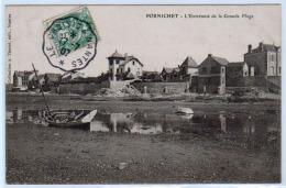 FRANCE: Timbre N°111obl Convoyeur Ligne Le Croisic à Nantes En 1907. Superbe Sur Une Belle Carte De Porchinet - Marcophilie (Lettres)