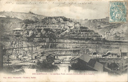 CPA Decazeville - Le Nouveau Puits Central D´extraction De La Houille - Mine - Decazeville