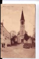 36 MIGNE Place De L'église Café CPA 1940 - France