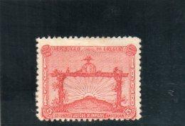 URUGUAY 1928 * ROUILLE-RUST - Uruguay