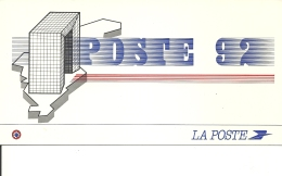 Carte Double Poste , France  1992,   Europa ( 395/96) - Frankreich