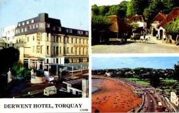 DEVON - TORQUAY - DERWENT HOTEL 1975  Dv760 - Torquay