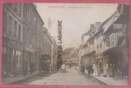 27 - GAILLON--Grande Rue Pres La Poste--commerce (Cartes Postales)--animé - Francia