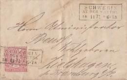 NDP Brief EF Minr.16 R3 Schwerin An Der Warthe 18.11.71 - Norddeutscher Postbezirk