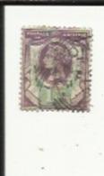 1 Timbre De 1 1/2 D_ Cinquantenaire Du Règne De Victoria_Postage-& Revenue_Voir Scan - 1840-1901 (Victoria)
