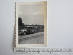 Photo Photos Photographie Voiture Automobile Citroën 2 Cv - Automobiles