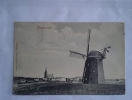 Zinnowitz // Muhle // Gelaufen Mit Stempel Lampersdorf (Tjechie) 1909 Selten!! - Zinnowitz