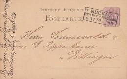 DR Ganzsache R3 Buckau Reg. Bez. Magdeburg 6.12.80 - Deutschland