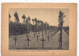 B 8920 LANGEMARK, Deutscher Friedhof - Langemark-Poelkapelle