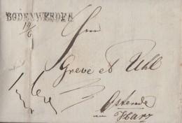 Brief L1 Bodenwerder 14.6.1831 Gel. Nach Osterode - Deutschland