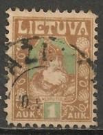 Timbres - Lituanie - 1921 - 1 S. - - Lituanie