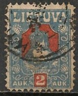 Timbres - Lituanie - 1921 - 2 S. - - Lituanie