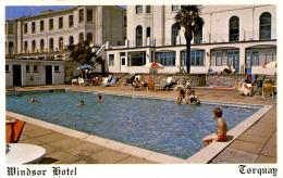 DEVON - TORQUAY - WINDSOR HOTEL   Dv786 - Torquay