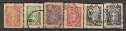 Timbres - Lituanie - 1927 - Lot De 6 Timbres - - Lituanie