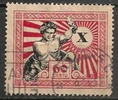 Timbres - Lituanie - 60 C . - N° 282 - - Lituanie