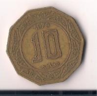ARGELIA 10 DINARS 1979 - Argelia