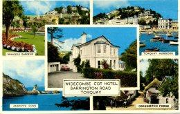 DEVON - TORQUAY - WIDECOMBE COT HOTEL  Dv797 - Torquay