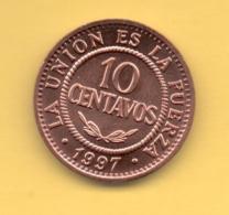 BOLIVIA - 10 Centavos 1997 SC  KM202 - Bolivia
