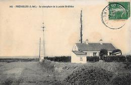CARTE POSTALE ORIGINALE ANCIENNE : PREFAILLES ; LE SEMAPHORE DE LA POINTE DE SAINT GILDAS ; LOIRE ATLANTIQUE (44) - Préfailles