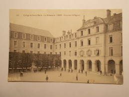 Carte Postale - CAEN (14) - La Maladrerie - Collége De Ste Marie - Cour Des Collégiens (461) - Caen