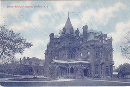 Brooks Memorial Hospital, Dunkirk, NY (1909, Tom Jones) - NY - New York