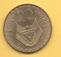 RWANDA - 20 Francs 1977 SC  KM15 - Rwanda