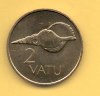 VANUATU - 2 Vatu 1990 SC  KM4 - Vanuatu
