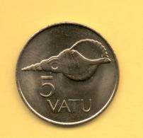 VANUATU - 5 Vatu 1990 SC  KM5 - Vanuatu