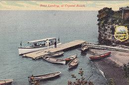 Boat Landing At Crystal Beach (top Animation) - Ontario