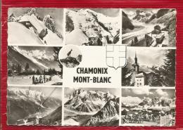 Souvenir De CHAMONIX - MONT-BLANC -  Dépt 74 - CPSM - Chamonix-Mont-Blanc