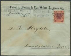 ÖSTERREICH / Brief Von Wien Nach Laßnitzhöhe Vom 19.VIII.21 - Briefe U. Dokumente