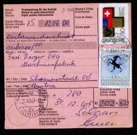 A4006) Liechtenstein Auslands-Postanweisung Schaan 31.12.69 - Liechtenstein
