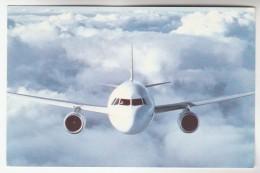 YUGOSLAVIA Postcard ADRIA AIRWAYS Airline AIRBUS A320 AIRCRAFT Aviation Flight - 1946-....: Modern Era