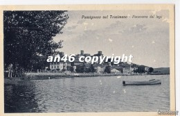 PASSIGNANO SUL TRASIMENO-VIAGGIATA1932-OTTIMA CONSERVAZIONE-2 SCAN- - Perugia