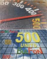 Telefonkarte Bulgarien - BulFon - Werbung   - 500 Units - Aufl. 35000 - Bulgarien