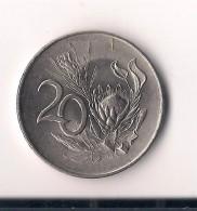SUDAFRICA 20 CENTS 1965 - Sudáfrica