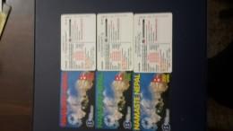 Nepal-namxaste Nepal-(60,120,250)-(3cards)-used Card+2card Prepiad Free - Nepal