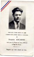 64Mb  Jacques Aicardi Résistant Maquis O.C.M. Mort En 45 Camp De Concentration D' Ellrich - Obituary Notices