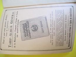 La Reliure / L'art De La Reliure Appliqué à La Relieuse MF/ Manufrance /Saint Etienne /Vers 1930-1940           LIV70 - Bricolage / Technique