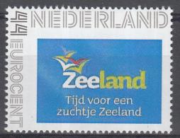 Nederland - Zeeland - Tijd Voor Een Zuchtje Zeeland - Provincie Zeeland - MNH - Persoonlijke Postzegel - Géographie
