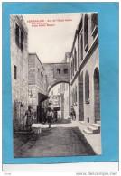 PALESTINE-JERUSALEM- Arc De L'ecco Homo- Via Dolorosa- Animée -le Puits-- -Année10--20 - Palestine