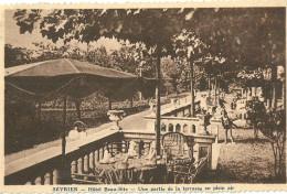 Sevrier Hotel Beau Site Une Partie De La Terrasse En Plein Air - Autres Communes