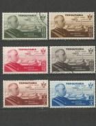 TRIPOLITANIA CORREO AEREO YVERT NUM. 63/68 * NUEVOS CON FIJASELLOS - 2 CON MATASELLOS - Tripolitania