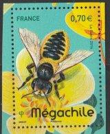 France 2016 - Neuf - Les Abeilles Solitaires - Mégachile (timbre De BLOC) - Neufs