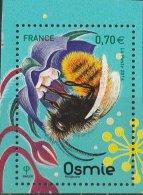 France 2016 - Neuf - Les Abeilles Solitaires - Osmie (timbre De BLOC) - Neufs